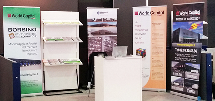 World Capital at Transpotec Logitec 2015: real and growing interest in real estate logistics