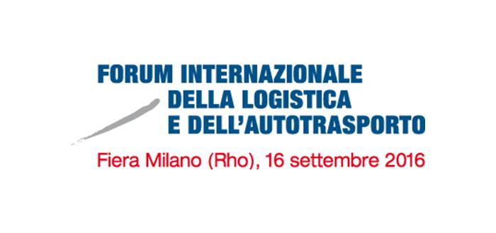 World Capital al Forum Internazionale della Logistica e dell'Autotrasporto –  Fiera Milano, 16 settembre 2016