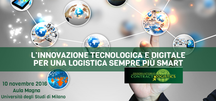 World Capital al Convegno dell'Osservatorio Contract Logistics – 10 novembre 2016, Università degli Studi di Milano